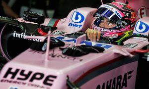 Perez pleased with best-possible sixth in qualifying