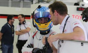 Gallery: Alonso's day with Toyota in Bahrain