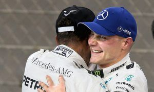 Bottas beats Hamilton to pole in Abu Dhabi