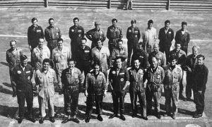 The Formula 1 mechanics' class of 1966
