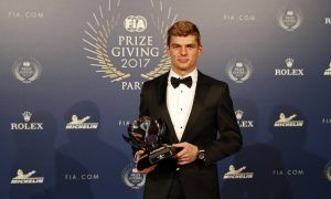 It's a hat trick for 'Personality of the Year' Max Verstappen!