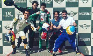 Alonso's idea of a break from motor racing!