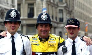 'Who do you think you are sir, Nigel Mansell?'