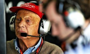 Pace of recovery nicely improving for Lauda, says brother