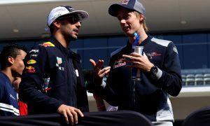 Ricciardo impressed by Hartley's perseverance