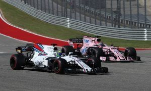 Williams outpaced by Force India development