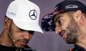 Ricciardo: Hamilton won by keeping a cooler head