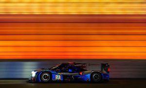 Racing at Daytona at the speed of color