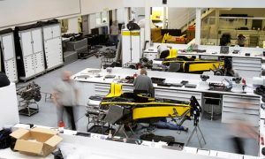 Tech F1i: The birth of a Formula 1 car – the production schedule