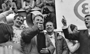 When Gurney showed everyone how to celebrate!