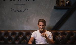 No dry January for Jenson Button