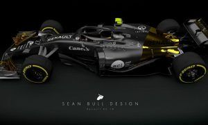 A fierce 2018 livery for Renault's RS 18!