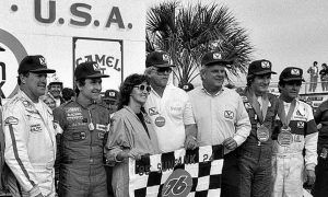 The last active F1 driver to win at Daytona