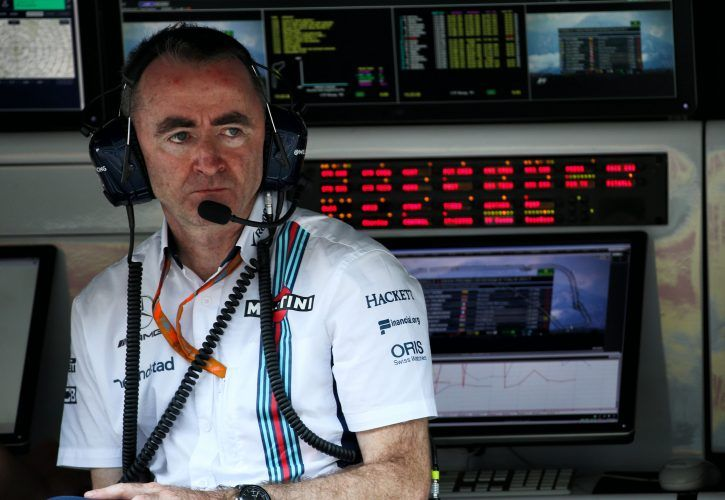 Paddy Lowe (GBR) Williams Chief Technical Officer.