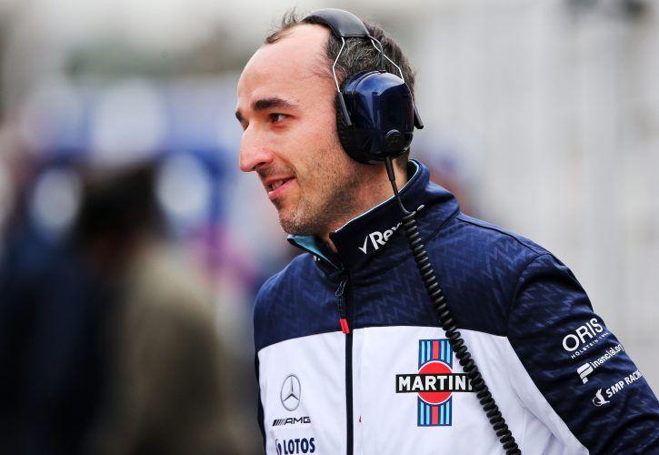 Robert Kubica (POL) Williams Reserve and Development Driver.