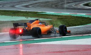 It's snow joke: Alonso fastest as teams lose out to the weather