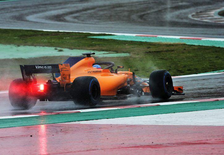 Fernando Alonso (ESP) McLaren MCL33. 28.02.2018. Formula One Testing, Day Three