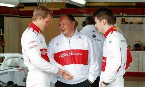 Vasseur weighs in on Marcus Ericsson's... weight!