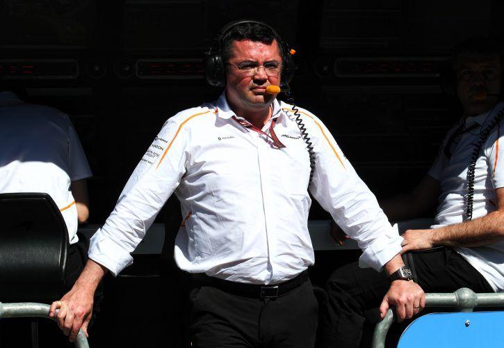 Eric Boullier (FRA) McLaren Racing Director.