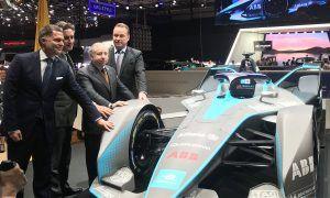 Formula E presents first physical Gen2 car in Geneva