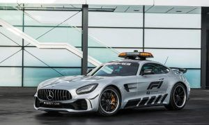 Gallery: F1 reveals most powerful Mercedes Safety Car ever