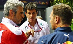 Wolff sees the usual suspects still fighting for supremacy
