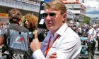 Mika Häkkinen (FIN) on the grid. 14.05.2017.