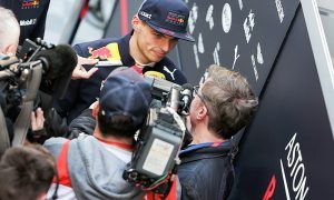 Verstappen 'no comment' on Wolff's three-way prediction