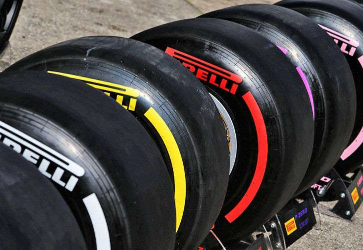 Pirelli tyres. 07.03.2018. Formula One Testing