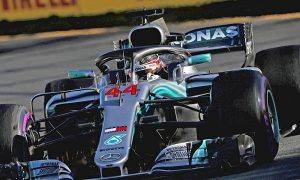 Hamilton backed off in Melbourne to protect engine