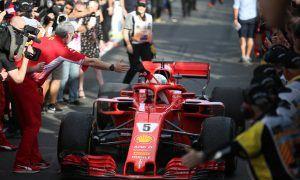 Ferrari further behind Mercedes compared to last year - Vettel