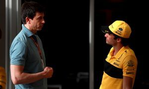 Mercedes and Wolff keeping a watchful eye on Sainz