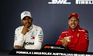 Vettel: 'No reason not to get along with Hamilton'