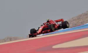Raikkonen keeps Ferrari ahead in final practice in Bahrain
