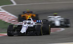 Williams and McLaren both suffering on straightline speed