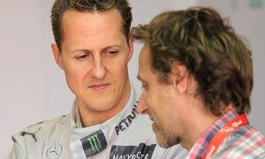 Luca Badoer making 'regular visits' to see Michael Schumacher