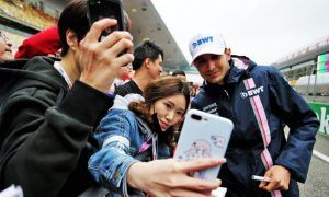 China GP: Thursday's build-up in pictures