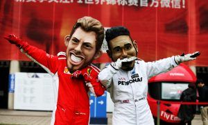 Scenes from the paddock - Shanghai