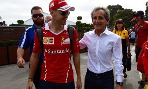 Prost says Ferrari can outrace its rivals to the title