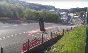Terrifying fan video of WEC Spa crash goes viral!