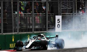 Hamilton still at odds with 'harder to drive' W09