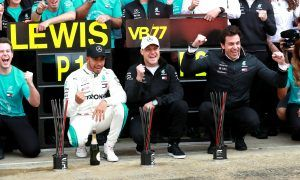Wolff keeping Mercedes 'calm and humble' despite dominant win