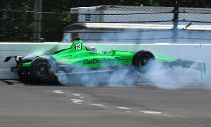 Not the ending Danica Patrick wanted…