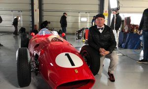 Martin Brundle enjoys a blast from the past