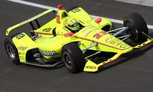 Penske and Pagenaud draw first blood at the Brickyard