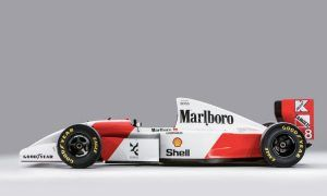 Senna's Monaco-winning McLaren: sold to Bernie!