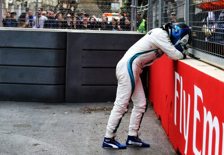 Valtteri Bottas (FIN) Mercedes AMG F1 retired from the race.