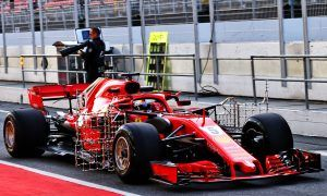 Ferrari issues down to chassis not tyres admits Vettel