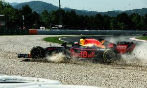 Ricciardo puts blame for FP1 mishap on gusty tailwinds