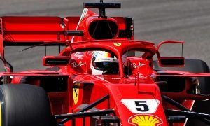 Vettel explains reasons behind Ferrari's halo wing mirrors